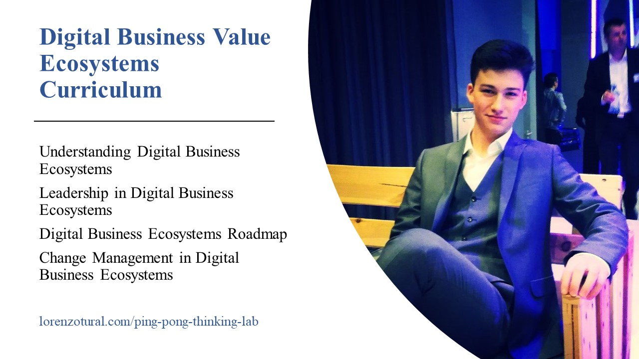 digital business ecosystems curriculum