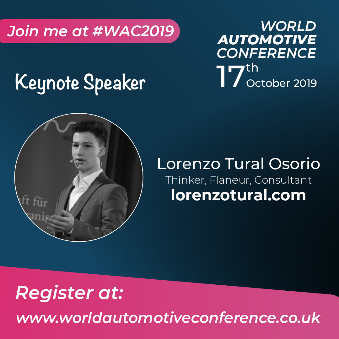 World Automotive Conference 17 October 2019