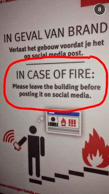 social media case of fire