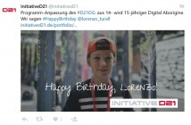 Initiatived21 Lorenzo Birthday